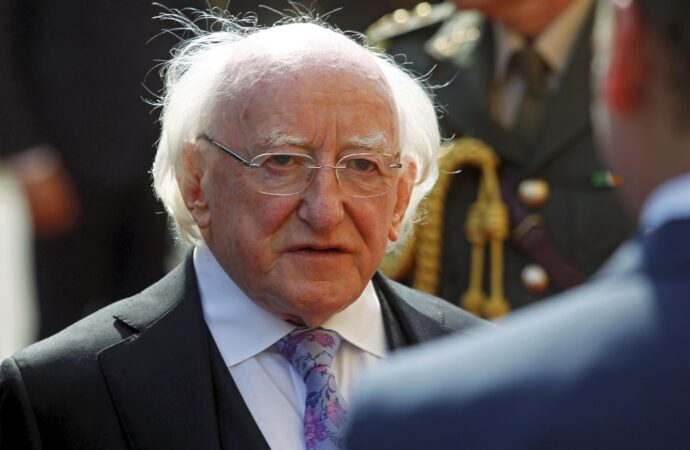 Michael Higgins, rieletto presidente dell'Irlanda
