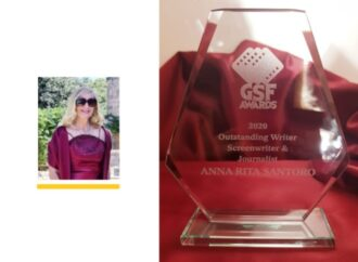 """GSF Awards 2020"" all'artista Anna Rita Santoro"